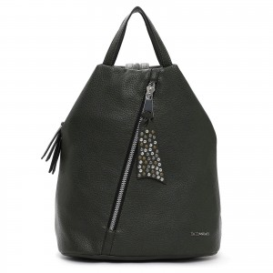Elegantní dámský batoh Emily & Noah Nicol - zelená