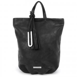 Elegantní dámský batoh Emily & Noah Frenia - černá