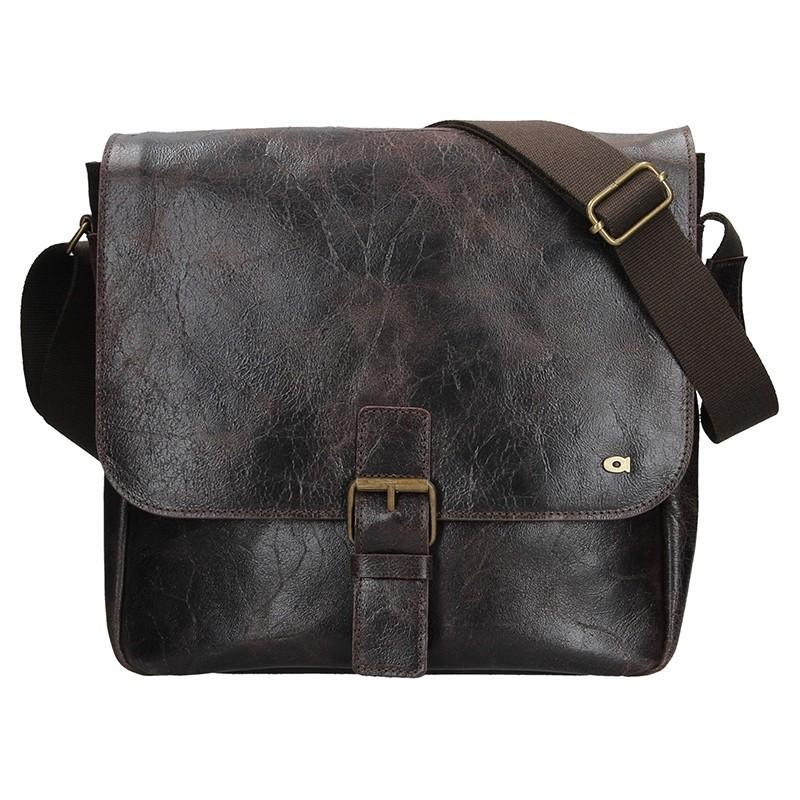 Pánská taška Daag JAZZY WANTED 95 - tmavě hnědá