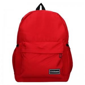 Pánský batoh Coveri World Austin - červená