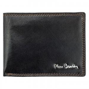 Pánská kožená peněženka Pierre Cardin Radovan - tmavě hnědá