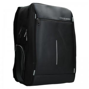 Pánský batoh Coveri World Quentin - černá