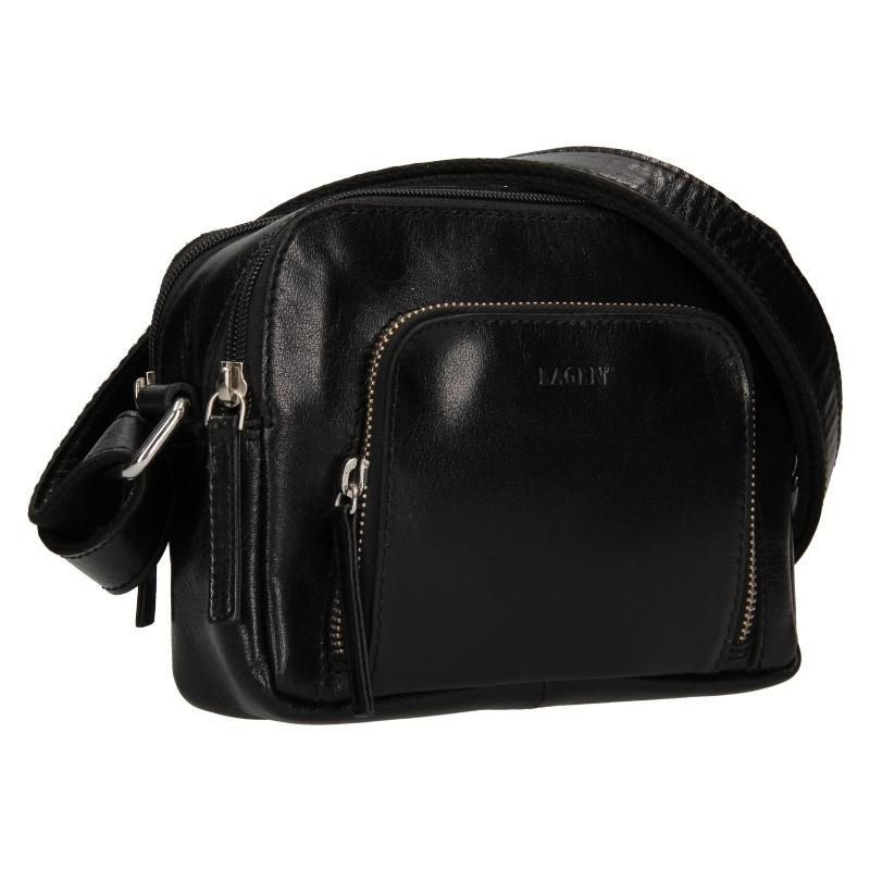 Dámská crosbody kabelka Lagen Candy- černá