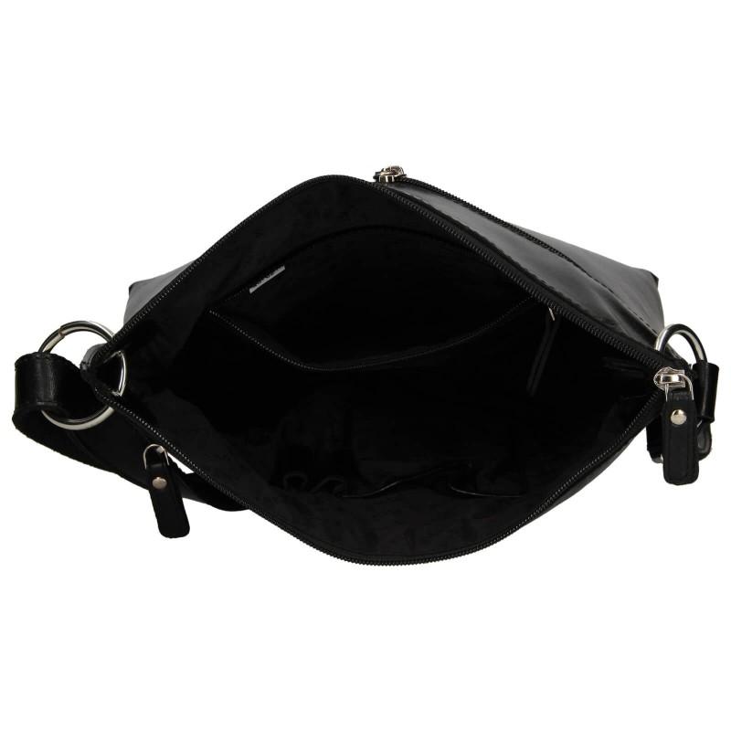 Dámská crosbody kabelka Lagen Ambra - černá