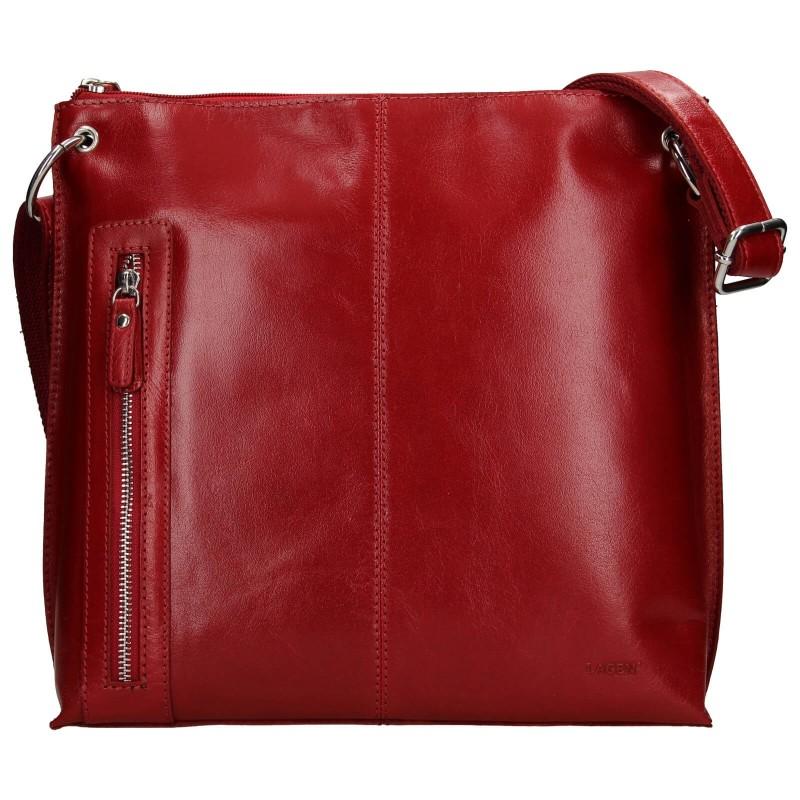 Dámská crosbody kabelka Lagen Ambra - červená