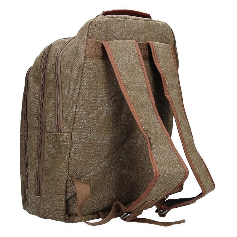 Pánský batoh Katana Juno - hnědo-zelená