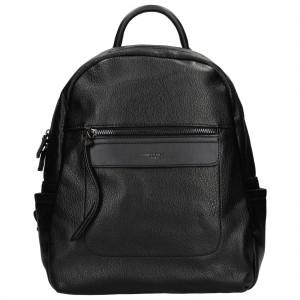 Módní dámský batoh David Jones Cora - černá