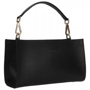 Dámská kožená kabelka Facebag Bety - černá