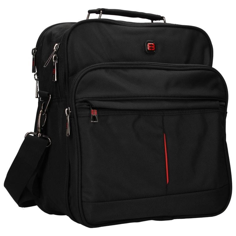 Pánská taška přes rameno Enrico Benetti Jerod - černá
