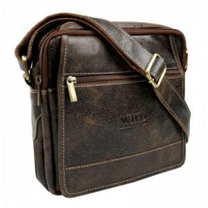 Pánská taška přes rameno Always Wild Didie - hnědá