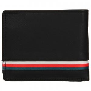 Pánská kožená peněženka DD Anekta Frencis - černá