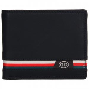 Pánská kožená peněženka DD Anekta Frencis - tmavě modrá