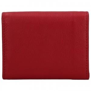 Dámská kožená peněženka DD Anekta Renna - červená