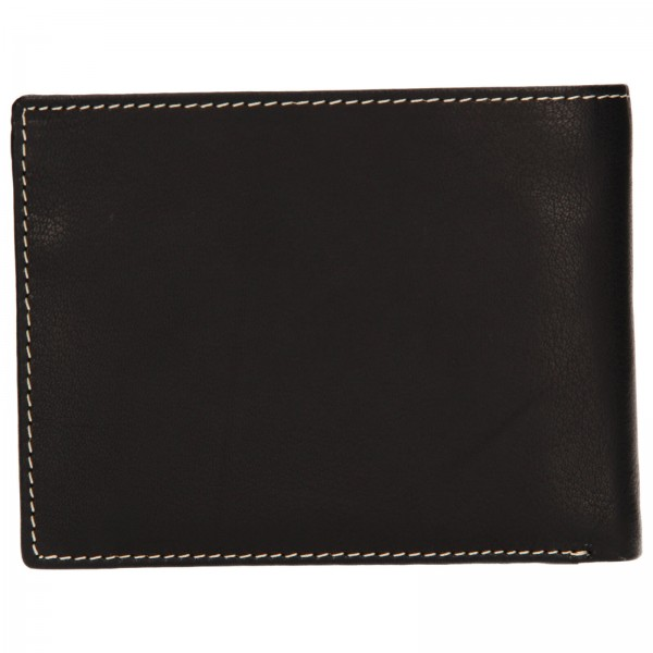 Pánská kožená peněženka Lagen Koudy - černá