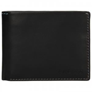 Pánská kožená peněženka Lagen Luket - černá
