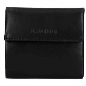 Dámská kožená peněženka Lagen Aneta - černá