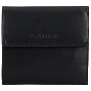 Dámská kožená peněženka Lagen Aneta - modrá