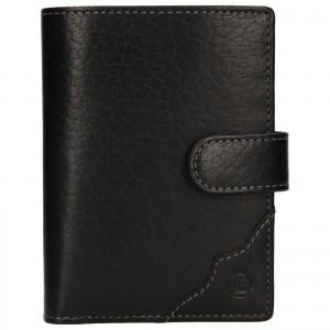 Pánská kožená peněženka Lagen Antonín - černá