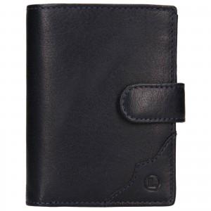 Pánská kožená peněženka Lagen Antonín - modrá