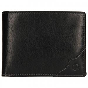 Pánská kožená peněženka Lagen Milan - černá