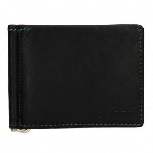 Pánská kožená peněženka Lagen Libor - černá
