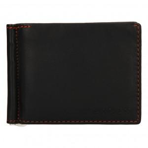 Pánská kožená peněženka Lagen Libor - tmavě hnědá