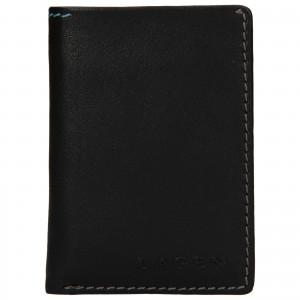 Pánská kožená peněženka Lagen Radovan - černá
