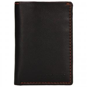 Pánská kožená peněženka Lagen Radovan - hnědá