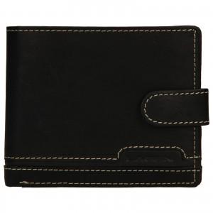 Pánská kožená peněženka Lagen Marien - černá