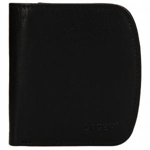 Pánská kožená peněženka Lagen Denis - černá