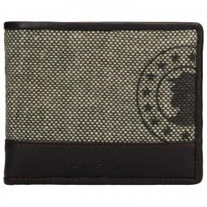 Pánská kožená peněženka Lagen Mann - hnědá