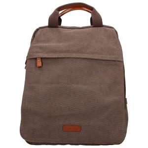 Pánský batoh Katana Tusco - hnědo-zelená