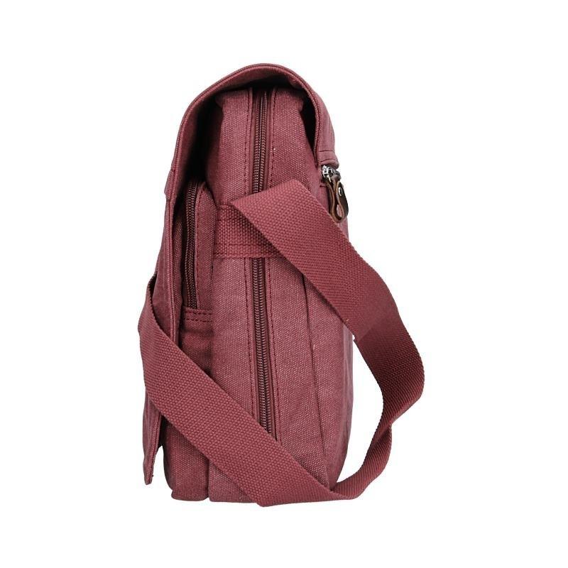 Pánská taška Katana Borsek - vínová