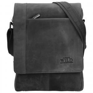 Pánská taška přes rameno Always Wild Artair - černá