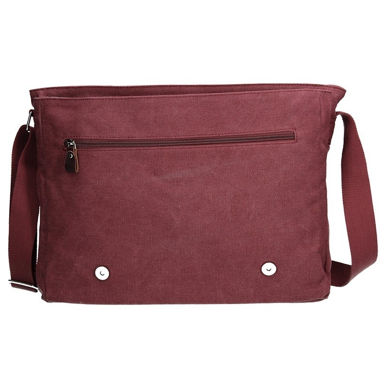 Pánská taška Katana Toile - vínová
