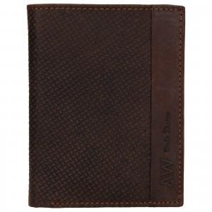 Pánská kožená peněženka Always Wild Billy - hnědá
