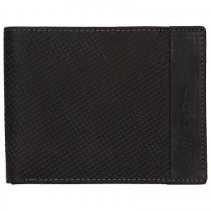 Pánská kožená peněženka Always Wild Simmon - černá