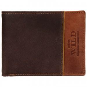 Pánská kožená peněženka Always Wild Fredy - hnědá