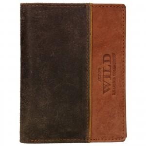 Pánská kožená peněženka Always Wild Pierre - hnědá