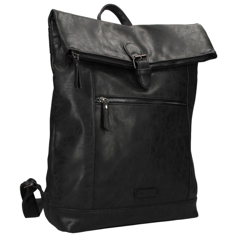Moderní dámský batoh Enrico Benetti Badea - černá