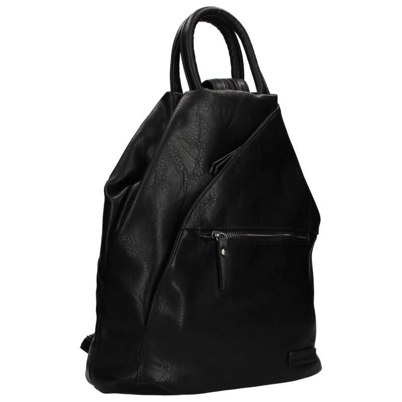 Moderní dámský batoh Enrico Benetti Linia - černá