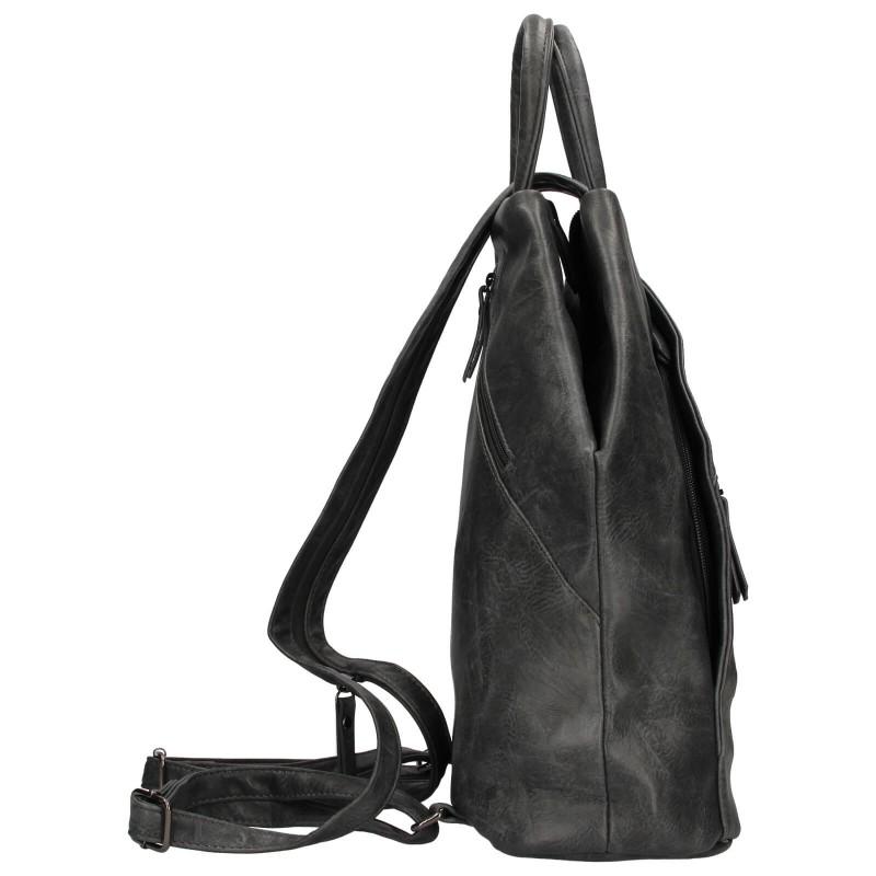 Moderní dámský batoh Enrico Benetti Linia - šedá