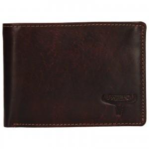 Pánská kožená peněženka Wild Buffalo Tommy - hnědá