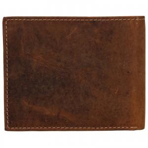 Pánská kožená peněženka Wild Buffalo Radim - světle hnědá