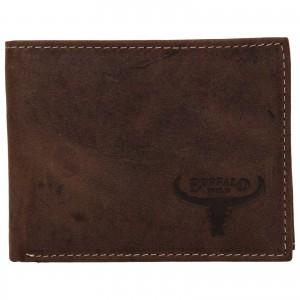 Pánská kožená peněženka Wild Buffalo Radim - hnědá