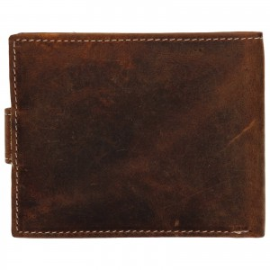 Pánska kožená peňaženka Wild Buffalo Kevin - hnedá