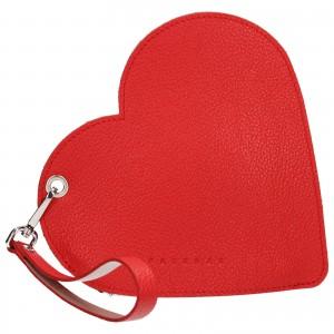 Trendy kožené psaníčko Facebag Love - červená