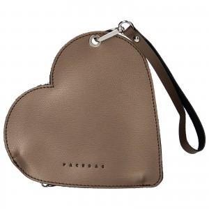 Trendy kožené psaníčko Facebag Love - bronzová