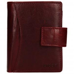 Dámská kožená peněženka Lagen Lilly - červená