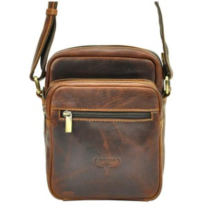 Pánská taška přes rameno Buffalo Wild Quido - hnědá